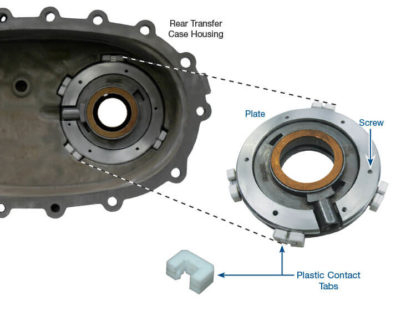 Transfer Case Pump Plate Kit #100246-02K, New Process 230 & 240 Series, NP 136, 149, 236, 246, 261, 263